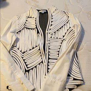 Black -white t shirt